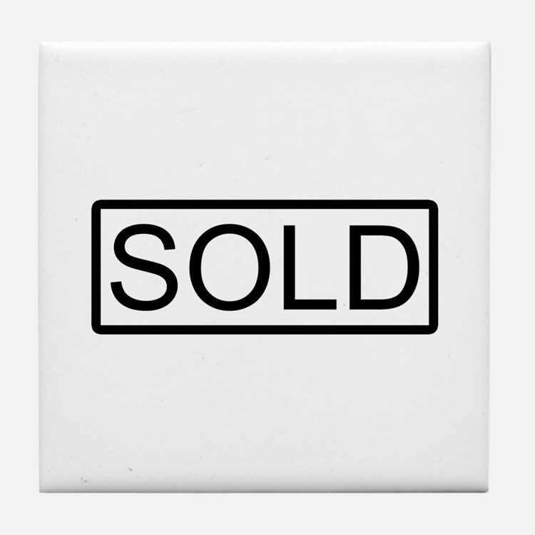 SOLD Tile Coaster