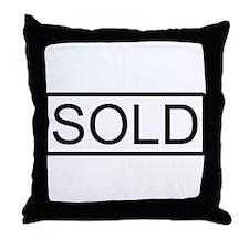SOLD Throw Pillow