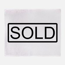 SOLD Throw Blanket