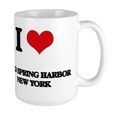 I love Cold Spring Harbor New York Mugs
