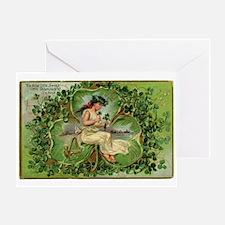 vintage St Patricks Day Greeting Card