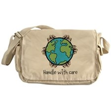 Handle With Care Messenger Bag