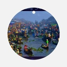Floating Market Ornament (Round)