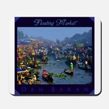 Floating Market Mousepad