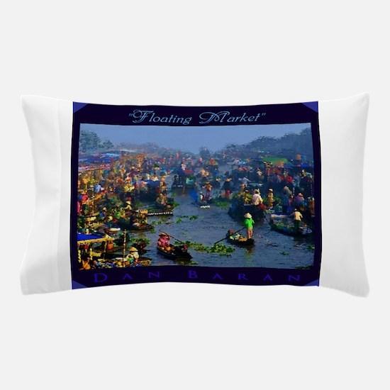 Floating Market Pillow Case