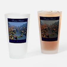 Floating Market Drinking Glass
