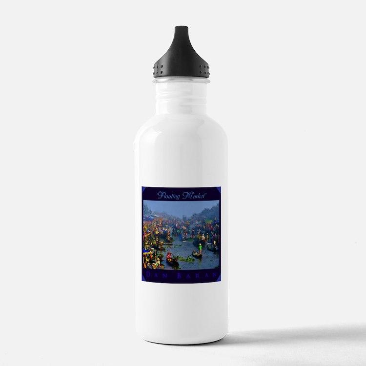 Floating Market Water Bottle