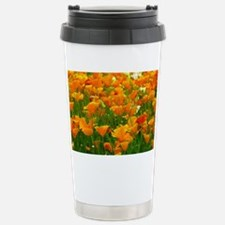 Field of Poppies Stainless Steel Travel Mug