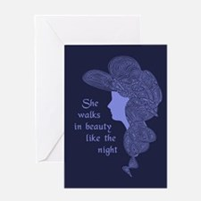 In Beauty Greeting Card