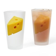 Cheese Wedge Drinking Glass