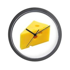 Cheese Wedge Wall Clock