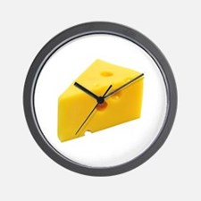 Cheese Wedge Wall Clock