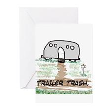 trailer trash, humor, adult Greeting Cards (Pk of