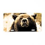Bear License Plates