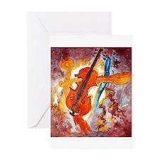 Homage to Stradivarius Greeting Card