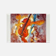 Homage to Stradivarius Rectangle Magnet