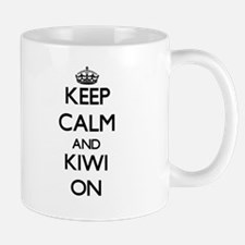 Keep calm and Kiwi ON Mugs