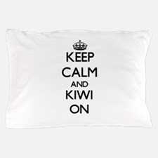 Keep calm and Kiwi ON Pillow Case
