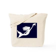McMermaids Logo All Black Tote Bag