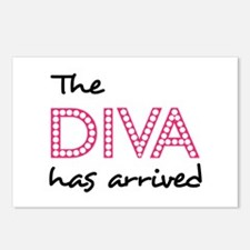 DIVA HAS ARRIVED Postcards (Package of 8)