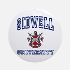 SIDWELL University Ornament (Round)