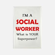 social worker Rectangle Magnet (10 pack)