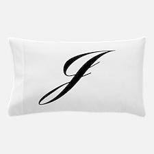 J-Lou black Pillow Case