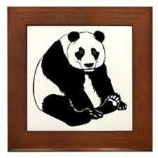 Giant Panda Framed Tile
