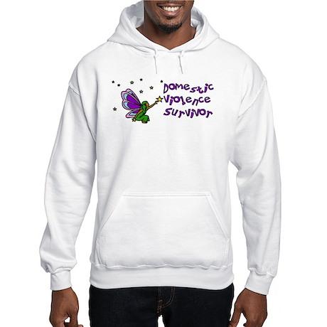 Domestic Violence Survivor Hooded Sweatshirt