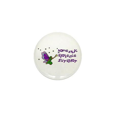 Domestic Violence Survivor Mini Button (100 pack)