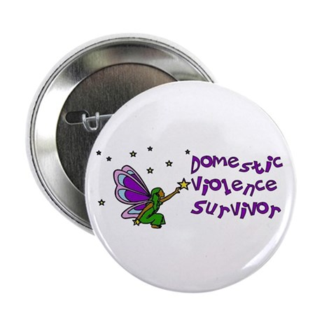 "Domestic Violence Survivor 2.25"" Button (100 pack)"