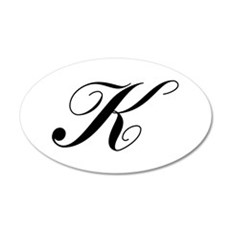 K-Lou black Wall Decal