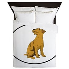 Wheaten Terrier Queen Duvet