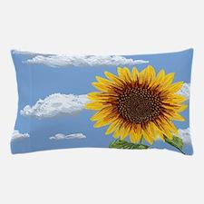 Sunflower morning Pillow Case
