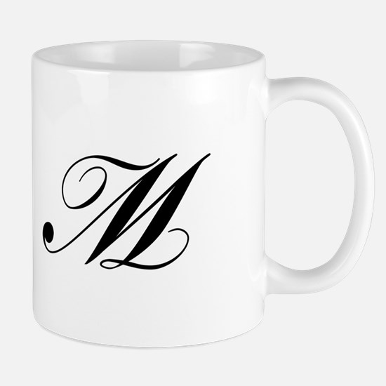 M-Lou black Mugs