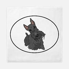 Scottish Terrier Queen Duvet