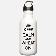 Keep calm and Wheat ON Water Bottle