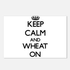 Keep calm and Wheat ON Postcards (Package of 8)