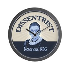 Notorious Dissenter Wall Clock