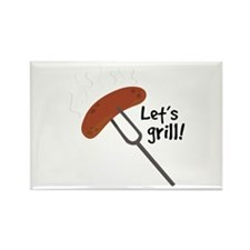 Let's Grill! Magnets