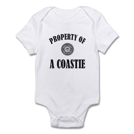 Property of a Coastie<br> Infant Bodysuit