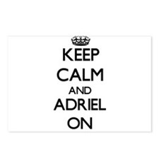 Keep Calm and Adriel ON Postcards (Package of 8)