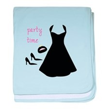 Party Time baby blanket