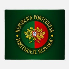 Portugal (rd) Throw Blanket
