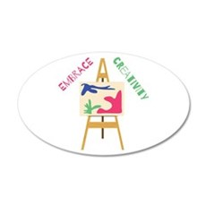 Embrace Creativity Wall Decal