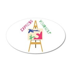 Express Yourself Wall Decal