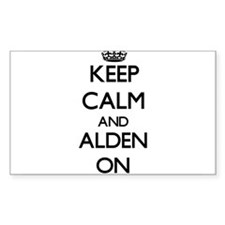 Keep Calm and Alden ON Decal