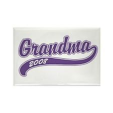 Grandma 2008 Rectangle Magnet