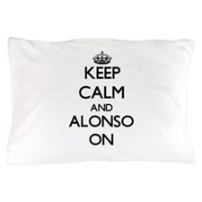 Keep Calm and Alonso ON Pillow Case