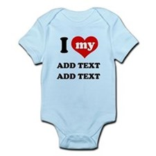 Funny My mom Infant Bodysuit